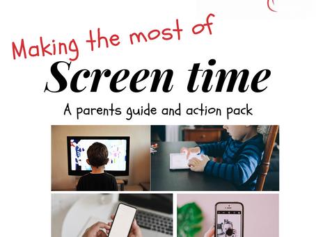 Does screen time effect speech development?