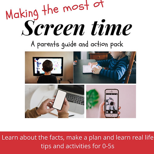 Making the most of screen time eBook