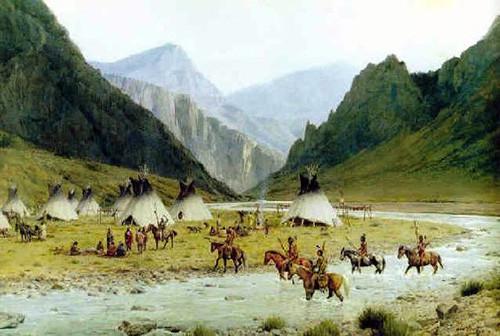 Wind river encampment