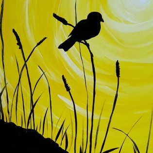 Yellow Sky & Bird