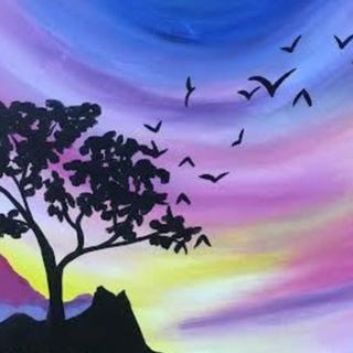 Purple Lion Sky