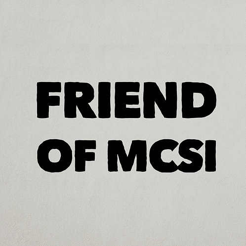 Friend of MCSI