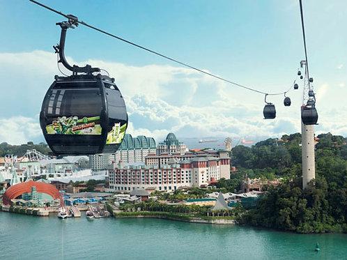 新加坡纜車通行證 (來回纜車)
