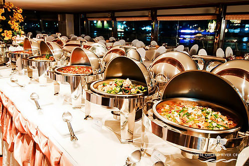 Bangkok- Dinner Cruise by White Orchid River Cruise Ticket Only (Child)