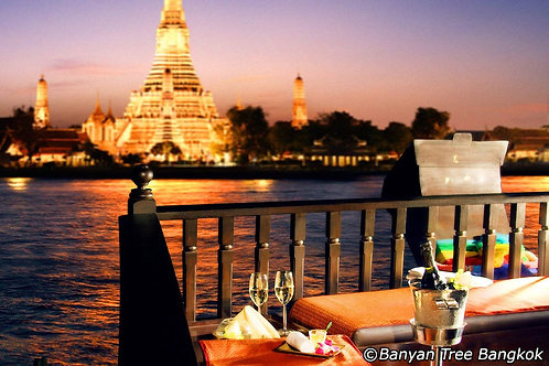 泰國-曼谷悅榕莊豪華遊輪晚宴