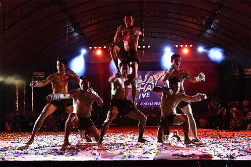 泰國-曼谷泰Man泰拳騷入場門票(普通坐位)