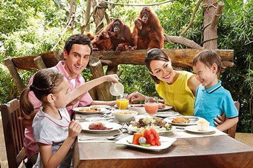 新加坡-與野生動物共進早餐