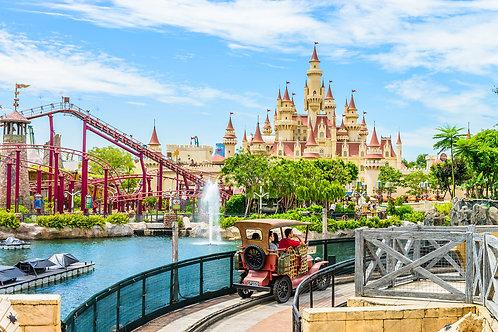 新加坡-環球影城電子門票