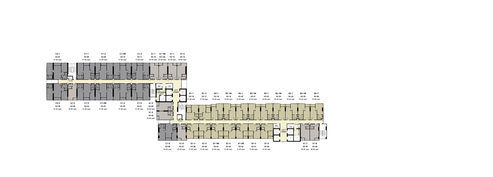 IDEO S93_19th,21st,23rd,25th Floor Plan