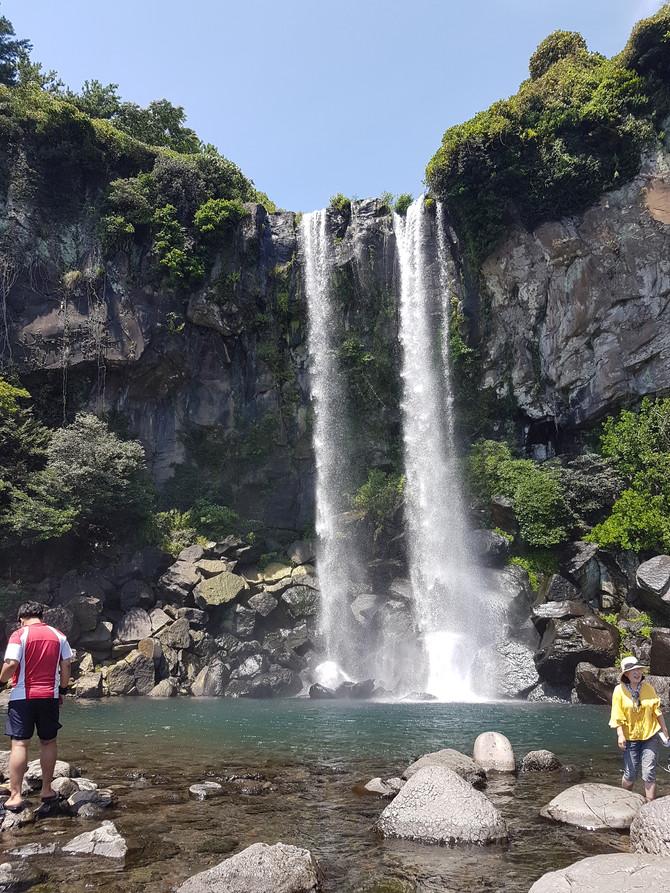 濟州島 正房瀑布