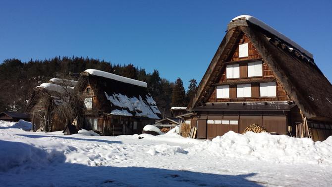 冬天的童話村落:日本白川鄉