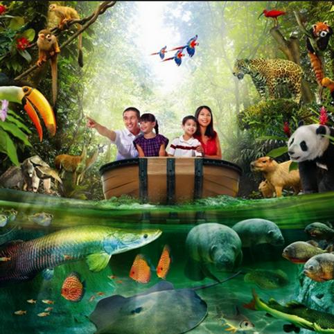 新加坡-河川生態園門票