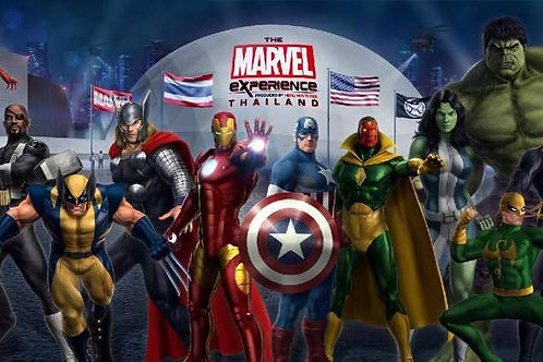 曼谷MARVEL超級英雄體驗館 ( New )
