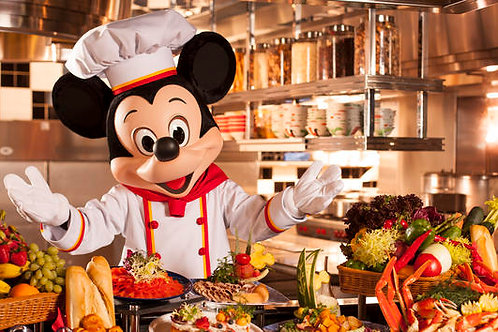 香港- 迪士尼樂園兒童美食一券一餐  Hong Kong- Disneyland Single Child Meal Coupon