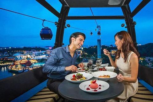 新加坡纜車 + 晚餐 ( 2 位 )