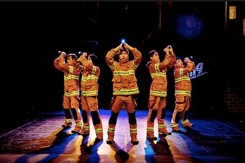 首爾最新音樂劇 Fireman救火秀 Fireman Show