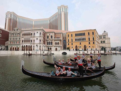 澳門威尼斯人酒店 - 貢多拉之旅