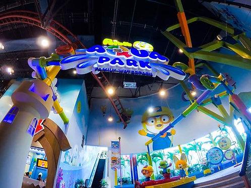 Bangkok- Pororo Aqua Park with locker and swim ring (Child)