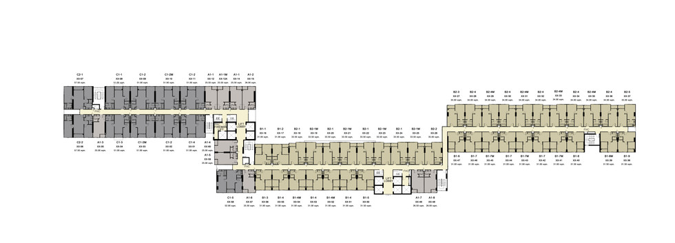 IDEO S93_7th,9th,11st,12A,15th,17th Floor Plan