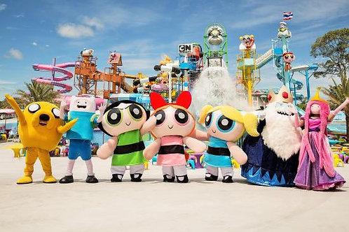 泰國-芭堤雅卡通主題水上樂園入場門票