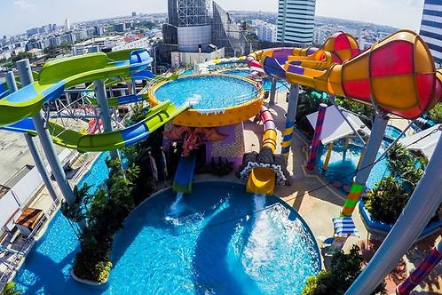 Bangkok- Pororo Aqua Park with locker and swim ring
