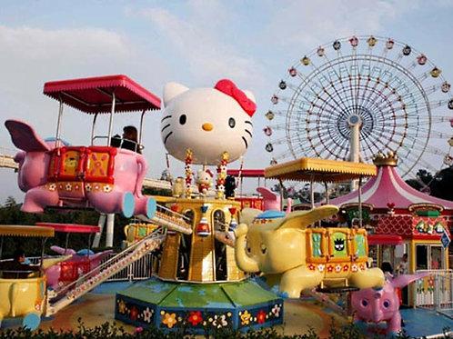 馬來西亞Hello Kitty主題公園 + 湯瑪士小火車小鎮