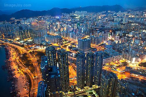 香港- 天際100 香港之夜 (6:00 PM 后入場)  Hong Kong- Sky 100 Sparkling Hong Kong Night