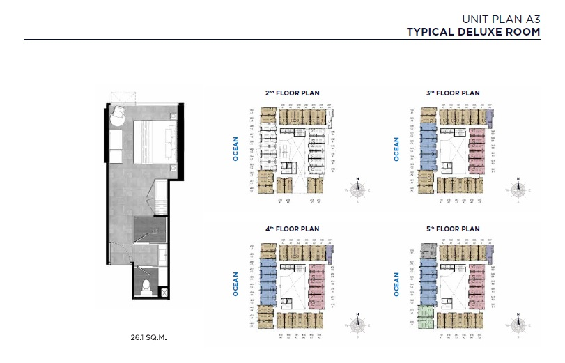 Unit Plan A3 (Typical Deluxe Room)