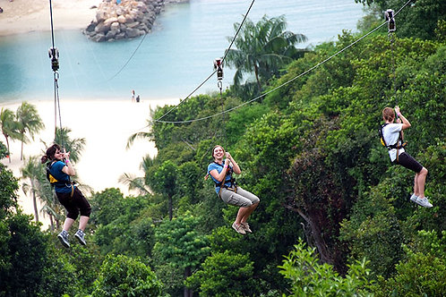 新加坡- 聖淘沙繩索探險門票