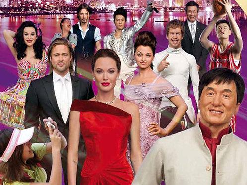 新加坡杜莎夫人蠟像館 + Spirit of Singapore 室內遊河體驗 + 萬象新加坡LIVE