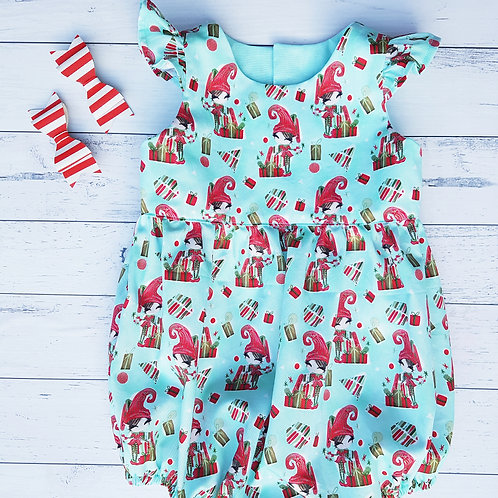 Xmas Elf Playsuit