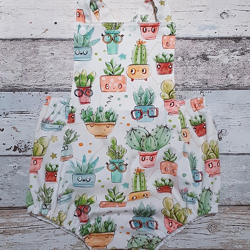 Curious Cactus Jumpsuit