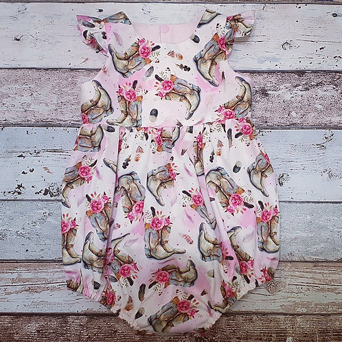 Cowgirl Boots Playsuit