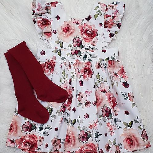 Scarlet Rose Pinafore