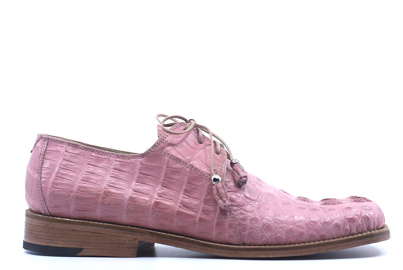 Pink Full Croc 1F US 10.5