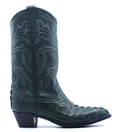 Crocodile Tail Cowboy Boot Women's 7.5