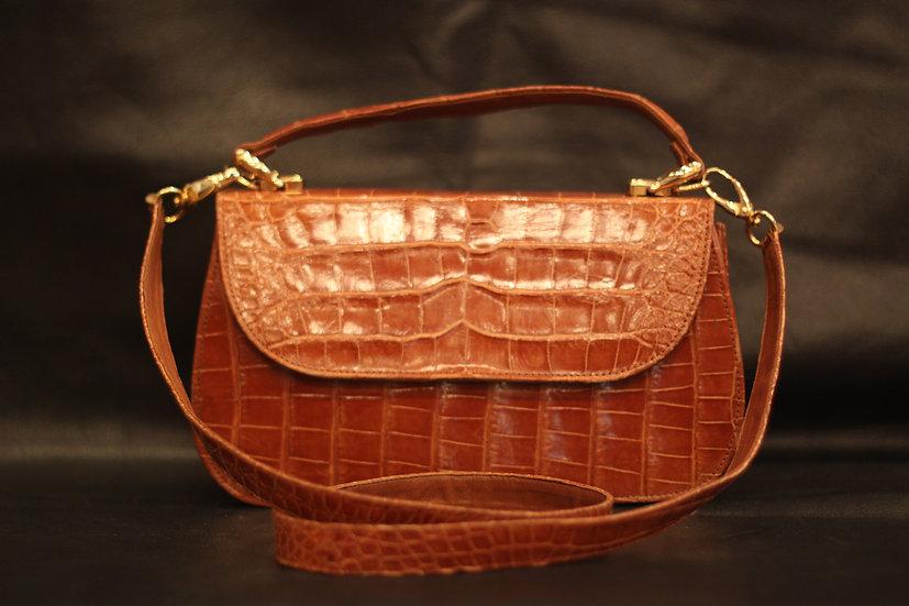 Full Alligator Belly Handbag