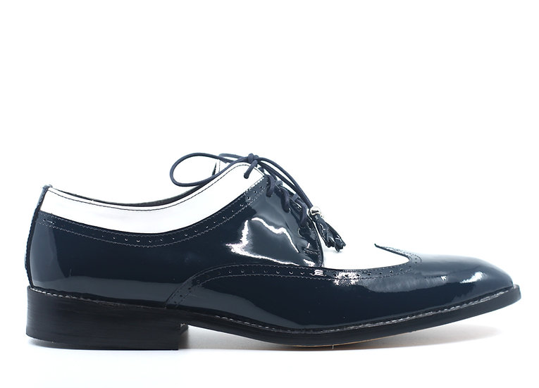 Patent Leather Wingtip Dress Shoes