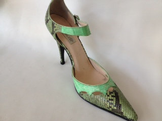 Crocodile Belly High Heel