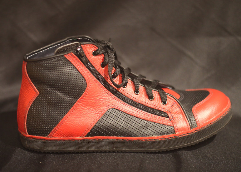 Custom Leather Hi-Top