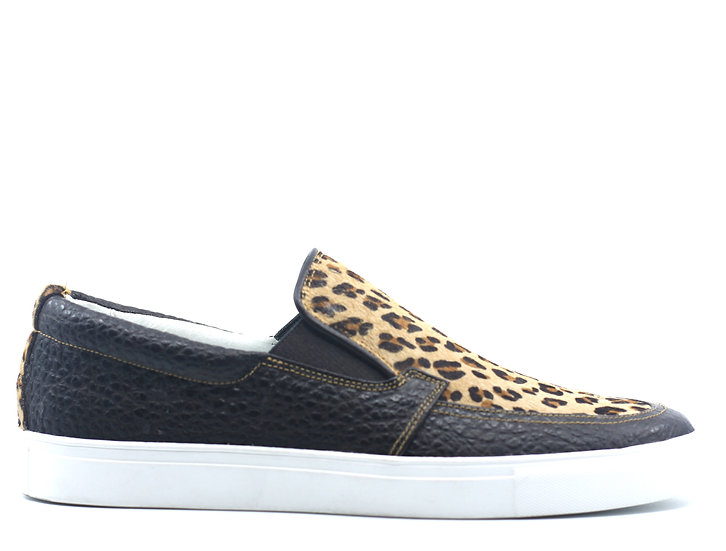 Leopard Print Slip On Sneaker US Men's 11