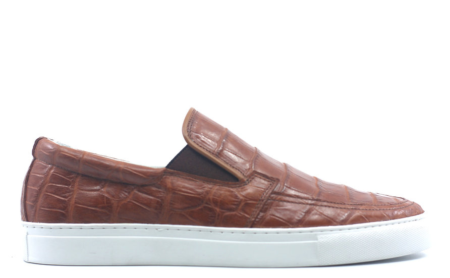 Alligator Slip-On Sneaker