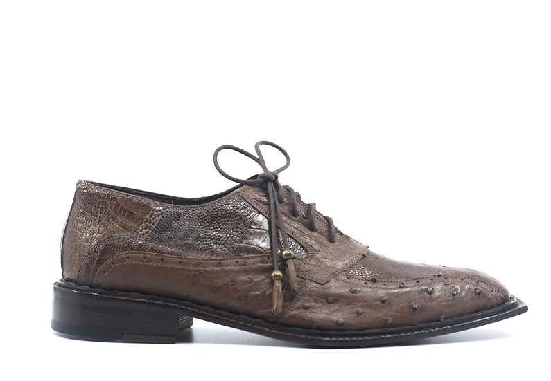 Ostrich Leg Dress Shoe US Men's 10