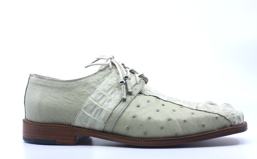 Off White Croc and Ost Dress Shoes US 10.5