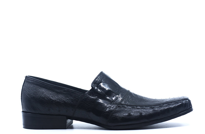 Full Ostrich Loafer US Men's 10