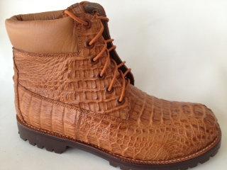 Full Hornback Crocodile Boot