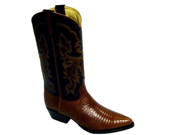 Lizard J Toe Western Boot
