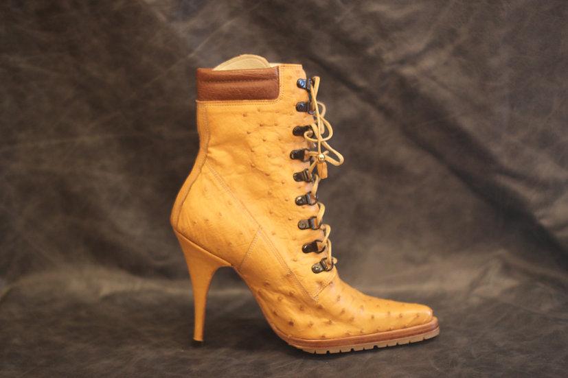 Ladies' Ostrich Heel Boot