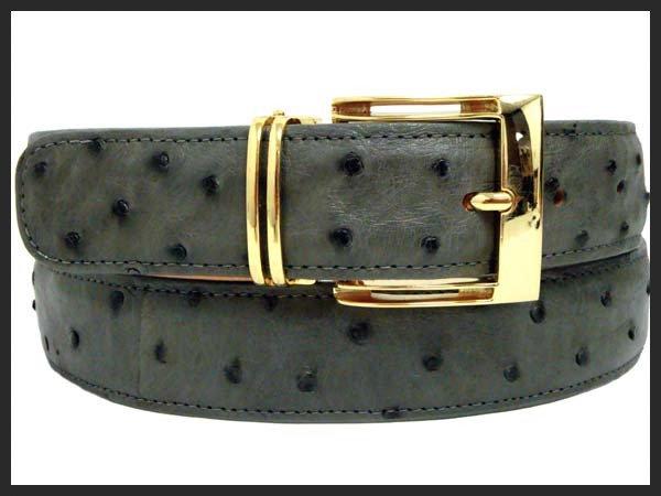Ostrich Fashion Belt