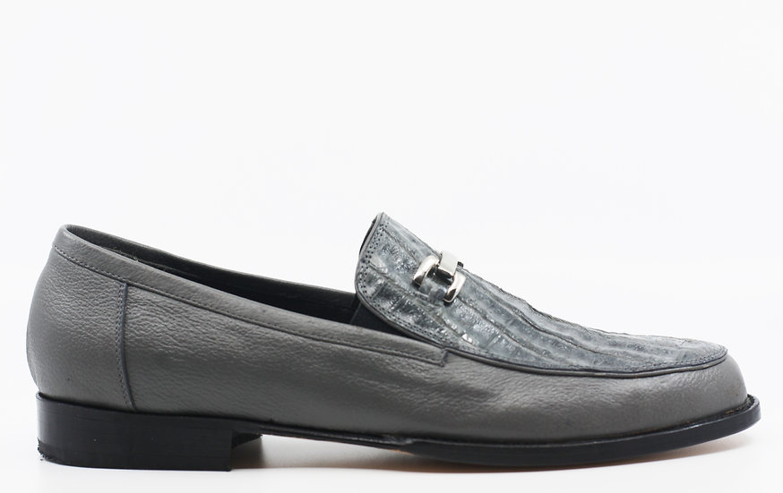 Crocodile Belly Loafer Size 11.5